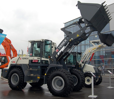 Terex Construction Equipment, CTT 2010, Moscow