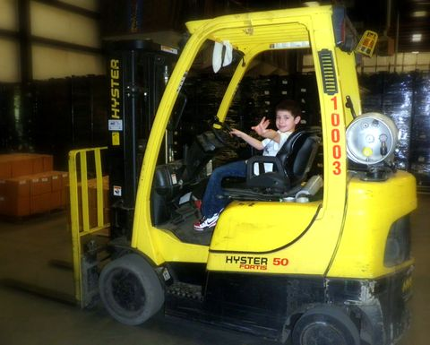 Forklift manufacturers the OSHA