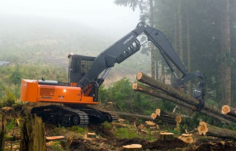 Hitachi ZX370F-3 Forester
