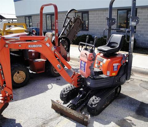 Kubota Mini Excavators K008-3