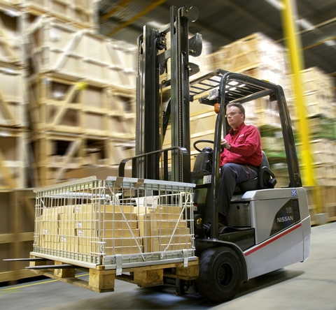 Nissan Electric Forklift TX